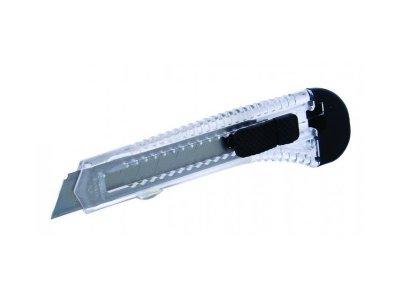 Nôž odlamovací plastový 18mm s vodiacou lištou 2