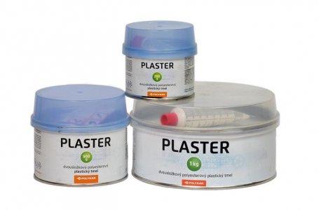 Tmel Polykar Plaster - jemný tmel na plasty