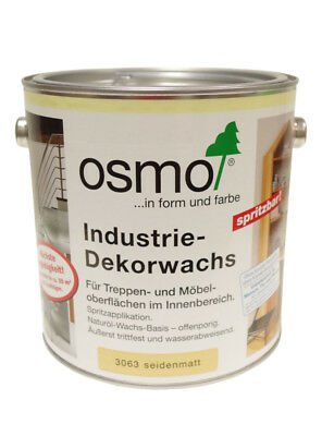 Osmo priemyselný dekoračný vosk 2,5 l 3063 bezfarebný - polomat