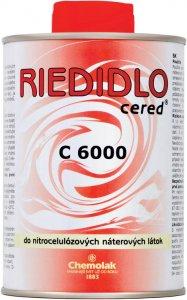 C 6000 Nitrocelulózové riedidlo - acetónové