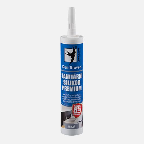 Premium sanitárny silikón - pružný a odolný silikón 310 ml transparentná