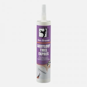 Akrylový tmel EXPRES - odolný a ľahký tmel