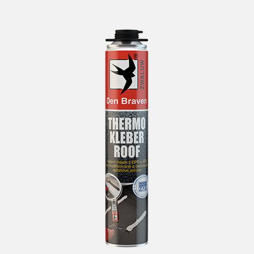 Thermo Kleber Roof - polyuretánové lepidlo na strechy žltá 750 ml