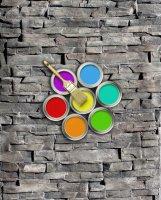 SET 3 farieb na obklad STAMP® Lámaný kameň
