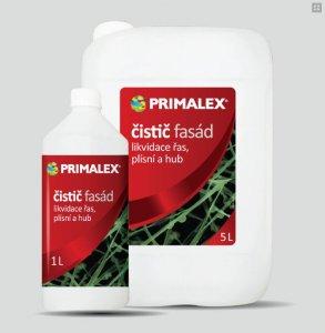 Čistič fasád Primalex - odstraňovač rias, plesní a húb z fasád