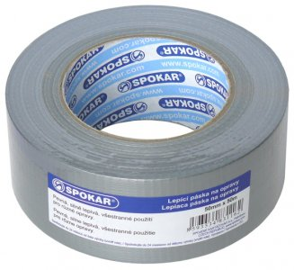Spevnená páska lepiaca na opravy 50mm x 50m Spokar