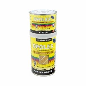 EPOLEX S1300 - epoxidový dvojzložkový lak na drevo a kov + tužidlo