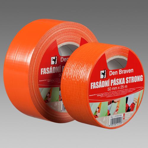 Fasádna páska Strong oranžová 48x20 m