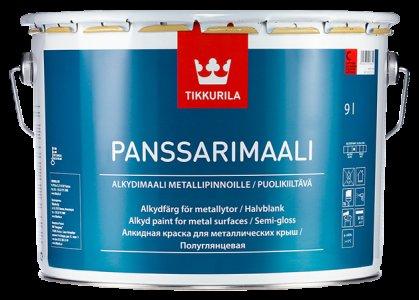 Panssarimaali - antikorózna farba na plechové strechy