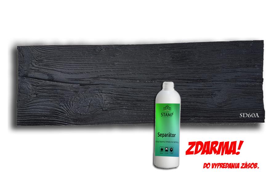 STAMP® Staré drevo - Profesionálna raznica na výrobu dreveného obkladu sd60a 60x 20 cm