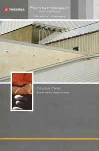 Vzorkovnica Sheet Metal Roof Paints - odtiene farieb na kovy a strechy