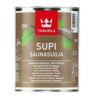 Supi Sauna Finish - lak na drevené steny a stropy sauny (zákazkové miešanie) 9 l tvt 3446 - redwood