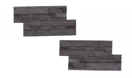STAMP Lámaný kameň SET 2ks - 2 raznice na výrobu obkladu lámaného kameňa
