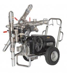 HeavyCoat 950 elektrický pohon - Hydraulické piestové zariadenie - Vozík