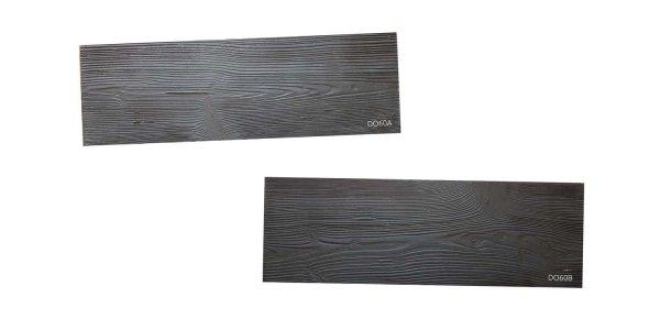 STAMP® Drevený obklad SET - 2 profesionálne raznice na výrobu moderného dreveného obkladu