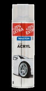 Maston Auto - akrylový strieborný sprej na kolesá