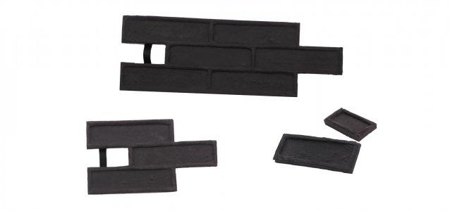 STAMP® Tehla Classic SET2 -  4 profesionálne raznice na výrobu obkladu