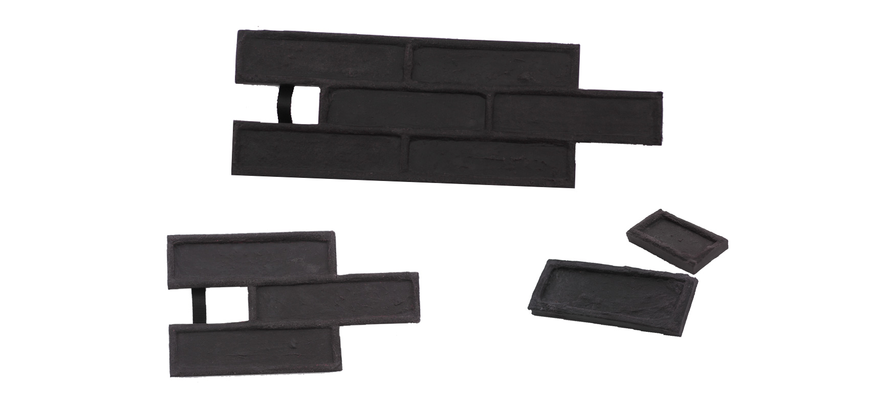 STAMP® Tehla Classic SET2 - 4 profesionálne raznice na výrobu obkladu 4 ks tc0,5+1 a tc3 a tc6