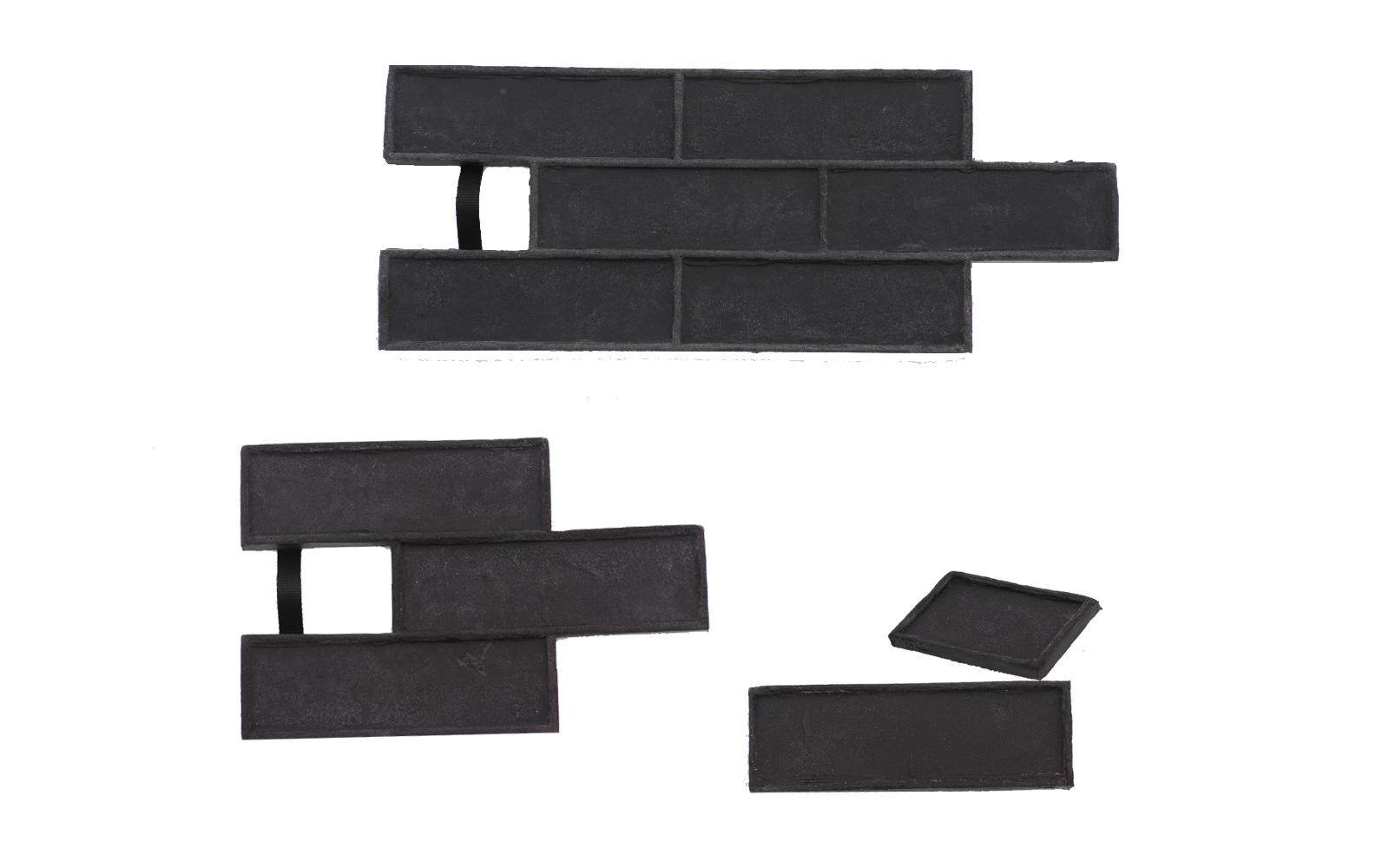 STAMP® Tehla Decent SET2 - 4 profesionálne raznice na výrobu obkladu 4 ks td0,5+1 a td3 a td6