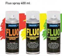 Maston fluorescenčná farba v spreji - fluo značkovací sprej