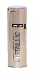 Maston Metallic - metalický sprej s efektom kovu
