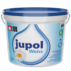 Jupol Weiss - voňavá biela ekologická vnútorná maliarska farba