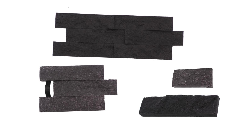 STAMP® Travertin SET2 - 4 profesionálne raznice na výrobu obkladu 4 ks t0,5+1 a t3 a t6