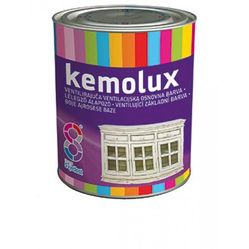 Kemolux - ventilačná základná farba na drevo 0,75 l biely