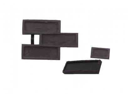 STAMP® Tehla Rustical SET1 -  3 profesionálne raznice na výrobu obkladu