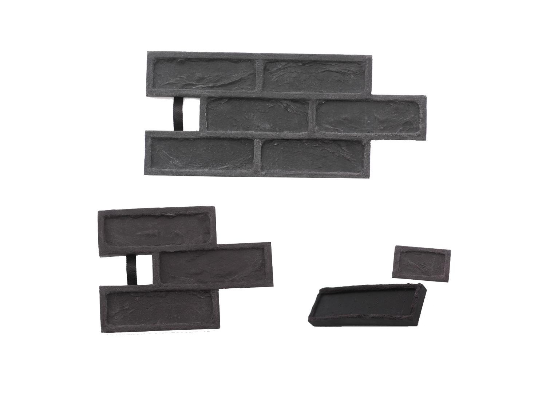 STAMP® Tehla Rustical SET2 - 4 profesionálne raznice na výrobu obkladu 4 ks tr0,5+1 a tr3 a tr6