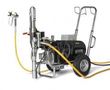 HeavyCoat 970 elektrický pohon- Hydraulické piestové zariadenie - Vozík