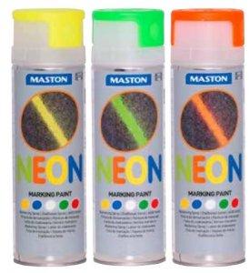 Maston neónový značkovací sprej - Neon Markingspray