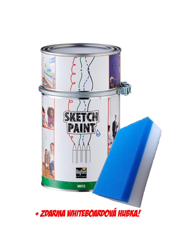 SketchPaint - popisovateľná farba na stenu (whiteboard)