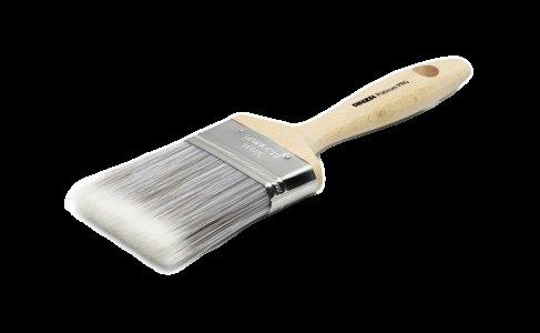 Štetec plochý s drevenou rúčkou, syntetické vlákno - Platinum PRO Flat Brush