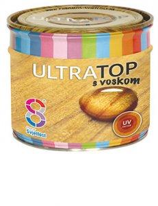 Ultratop - lesklá hrubovrstvová lazúra s voskom