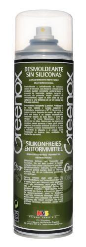 Greenox - bezsilikónový odformovací a separačný olej 500 ml