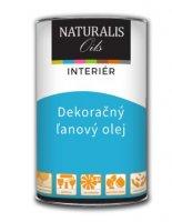 NATURALIS Farebný ľanový olej na drevo