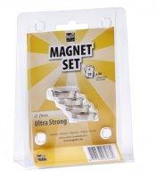 Ultrasilné neodymové magnety - sada 4ks