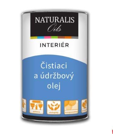 NATURALIS Čistiaci a údržbový olej na nábytok a podlahy
