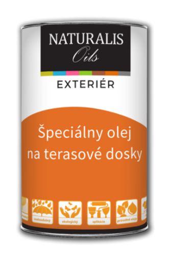 NATURALIS Špeciálny olej na terasové dosky - olej na terasy 5 l 3104 - pínia