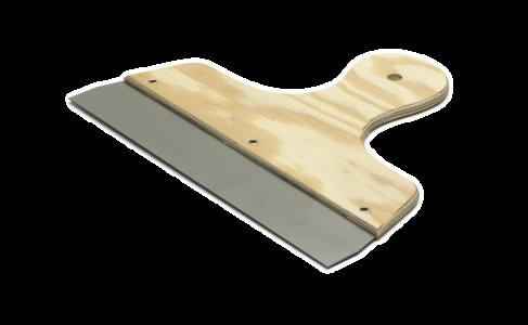 Široká špachtľa s drevenou rukoväťou - Wide Filling Knife Wood