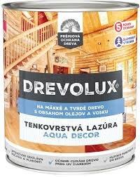 Drevolux Aqua Decor - vodouriediteľná lazúra s olejom a voskom