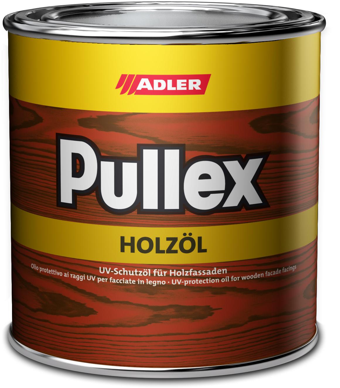 Adler Pullex Holzöl - UV ochranný olej na drevodomy a drevené obloženie 750 ml miešanie