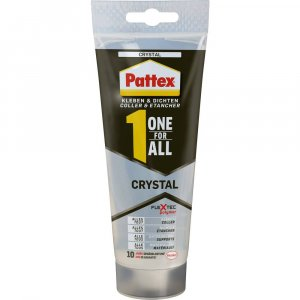 Pattex One For All Crystal - montážne lepidlo a tmel v jednom