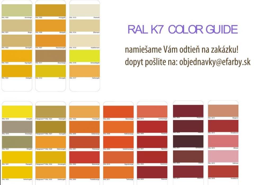 Adler Pullex Color - miešanie do RAL aj NCS - ochranná farba na drevo do exteriéru