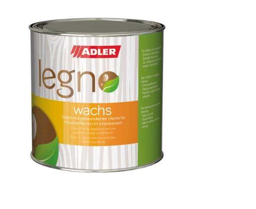 Adler Legno-Wachs - vodeodolný rýchloschnúci vosk na drevený nábytok a obklady v interiéri 750 ml farblos - bezfarebný