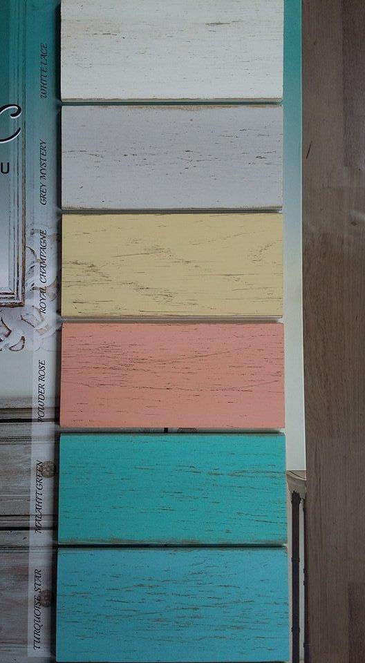 Aqualux shabby chic - kriedová farba pre vzhľad starého dreva
