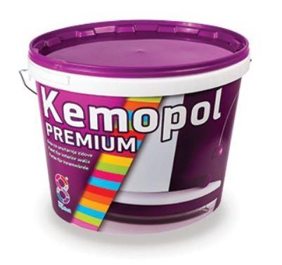 Kemopol Premium - Umývateľná interiérová farba biela 10 l