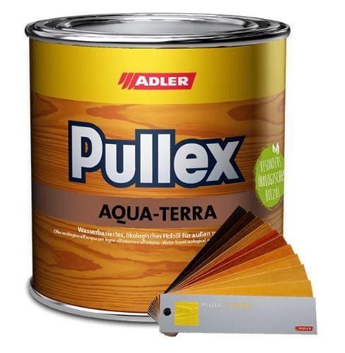 Adler Pullex Aqua-Terra - ekologický olej na drevo do interiéru a exteriéru na drevodomy či včelí úľ 750 ml miešanie
