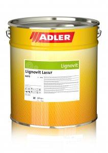 Adler Lignovit Lasur - vodouriediteľná lazúra a ochranou voči hubám, plesniam, modraniu a škodcom